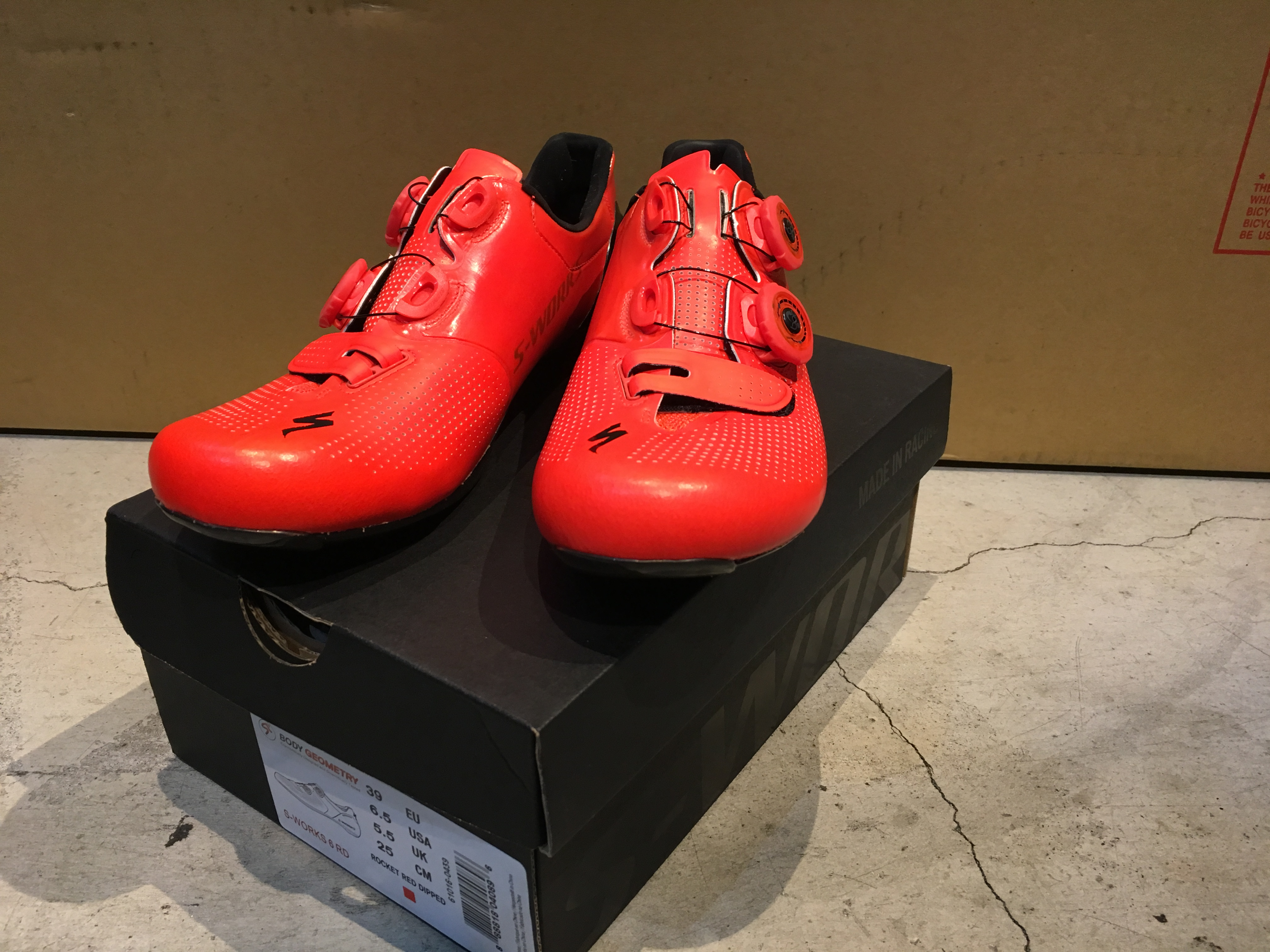 S-WORKS 6 RoadShoes(2016RED)